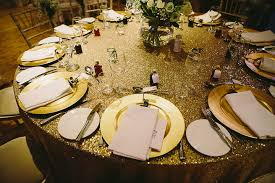 New Year S Eve Wedding Table Decorations by Hayley And Dan U0027s Glam New Years Eve Wedding By Kevin Belson