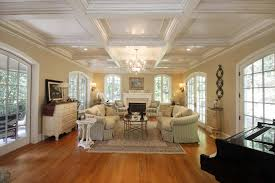 Pictures Of Traditional Living Rooms by Coffered Ceiling Designs Plus Wood Flooring Living Room And Living