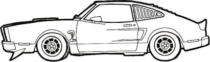 coloring pages drifting cars ford cobra mustang car coloring pages ford cobra mustang car