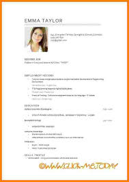 Sample Resume In English by 19 Sample Teaching Resumes Sample Application Letter As