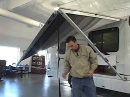 A E Awnings A U0026e Manual Awning Instructions For Use On A Born Free Motorhome