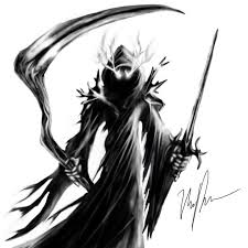 grim reaper drawing by nickld graphic showcase yugioh card