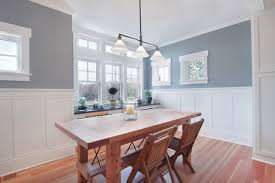 Pictures Of Wainscoting In Dining Rooms Greenlake Residence Dining Craftsman Dining Room Seattle
