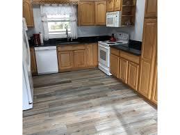 gray kitchen floors with oak cabinets vinyl plank flooring with oak cabinets vinyl flooring