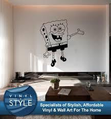 spongebob squarepants decor decal wall art graphic various colours