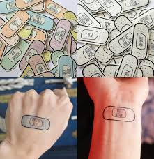 self care is as essential as breathing these temporary tattoos