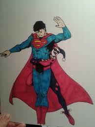 superman harley quinn colour mdmackay deviantart