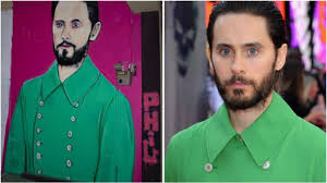 Jared Leto Meme - jared leto his green meme jacket immortalised in melbourne mural