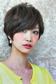 short hairstyles for asian women with thick hair
