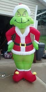 Grinch Outdoor Christmas Decorations For Sale by Wonderful Decoration Grinch Inflatable Christmas Decorations