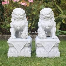 lions statues carved lions sculpture carved lions sculpture