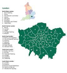 Kensington Metropark Map Map Of London Political Regional