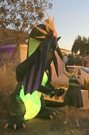 halloween inflatable dragon u2013 gardening nirvana