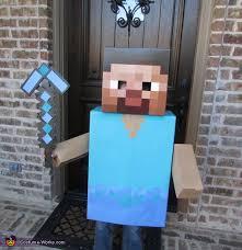 Steve Minecraft Halloween Costume Steve Minecraft Halloween Costume Coolest Diy Minecraft Steve