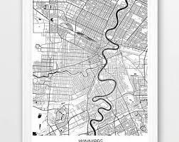 winnipeg map winnipeg city map etsy