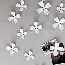 Flower Wall Decor 3d Flower Wall Sticker Home Decor Pop Up Stickers Wallpaper Wall