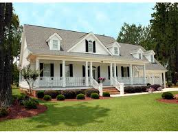 Split Level Front Porch Designs by Southern House Plans Houseplans Com