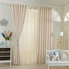 Walmart Red Grommet Curtains by Short Window Curtains Winyy Modern Simplicity Little Silver Stars