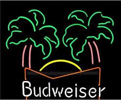 palm tree neon light 2018 budweiser palm tree neon sign disco ktv display sign