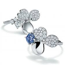 tiffany flower rings images Tiffany co 39 s first collection from reed krakoff was inspired by jpg