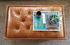 upholstered ottoman diamond tufting reality daydream
