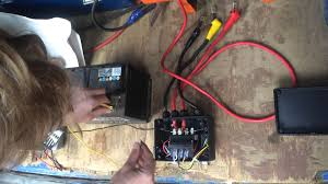 Atv Solenoid Wiring Diagram Winchmax Solenoid Test Youtube