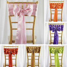 cheap chair sashes wholesale satin chair sashes venue decorations ebay