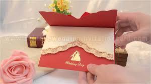 Design Wedding Invitation Cards New Design Chinese Style Red Wedding Invitation Card Youtube