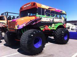 bus monster truck videos mighty monster bus monster trucks wiki fandom powered by wikia