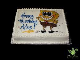 spongebob cake ideas amazing boys party cakes spongebob square