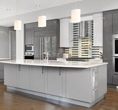 White Kitchen Cabinets White Appliances by Kitchen Design Grey Cabinets Outofhome
