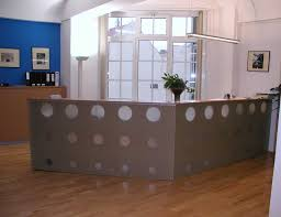Office Front Desk Furniture Chairs Modern Reception Contemporary L Shaped Desk Thediapercake