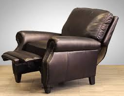 barcalounger premier reclining sofa barcalounger mission style leather recliner things mag sofa