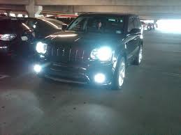 srt8 jeep headlights jeep grand srt8 hid kit xenon conversion pictures and