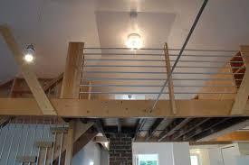 emt tube railing for loft