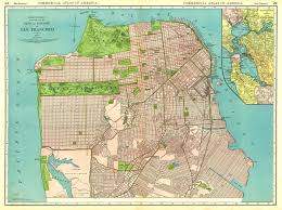 Zip Code Map San Francisco by San Francisco Historical Maps Michigan Map