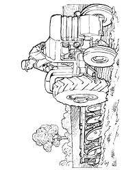 tractor trailer coloring pages tractor coloring page coloring home