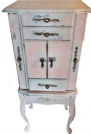 Jewelry Armoire Vintage Furnitures Ideas Magnificent Standing Jewelry Box Walmart Rustic