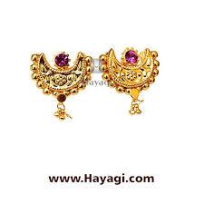 latkan earrings traditional chand thushi latkan saaj earrings tops online hayagi
