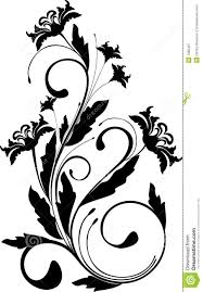 floral ornament vector royalty free stock photography image