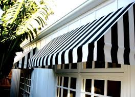 Awnings In A Box Black And White Awnings For Windows Of The Exterior Windows