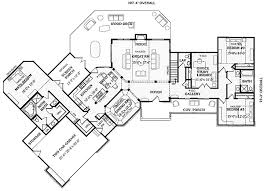 4 bedroom ranch floor plans angled split bedroom ranch 3866ja architectural designs