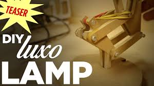 Luxo Desk Lamp by Mike Makes A Luxo Style Desk Lamp Teaser Youtube