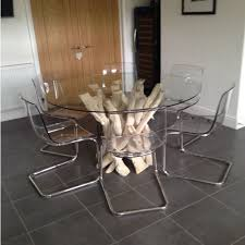 driftwood dining room table this bleached driftwood dining table base measures 900mm in diameter