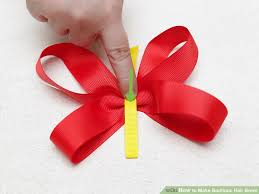 pictures of hair bows how to make boutique hair bows with pictures wikihow