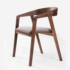 chaise bureau moderne simple et moderne meubles noyer salle chaise tissu chaise