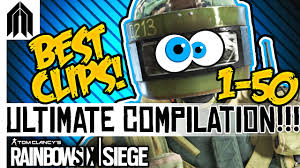 rainbow six siege funniest moments compilation r6s funny