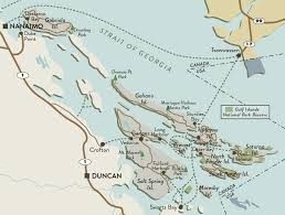 map of us islands and islands the southern gulf islands sit pretty along vancouver island s