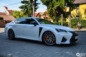 silver lexus lexus gs f 2016 23 july 2016 autogespot
