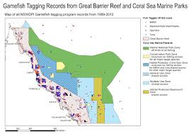 Great Barrier Reef Map Save Our Marine Life